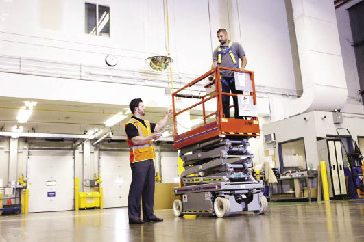 Aerial lifts training and certification northern training for Scissor lift training video